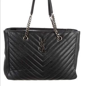 saint laurent matelasse shopper bag